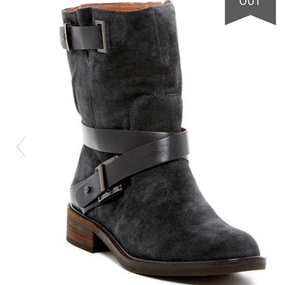 Louise et Cie Shoes - Louise et Cie VALENCIA Suede Moto Chelsea Boots